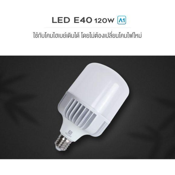 หลอด-led-E40-120W-AEC-LED-E40
