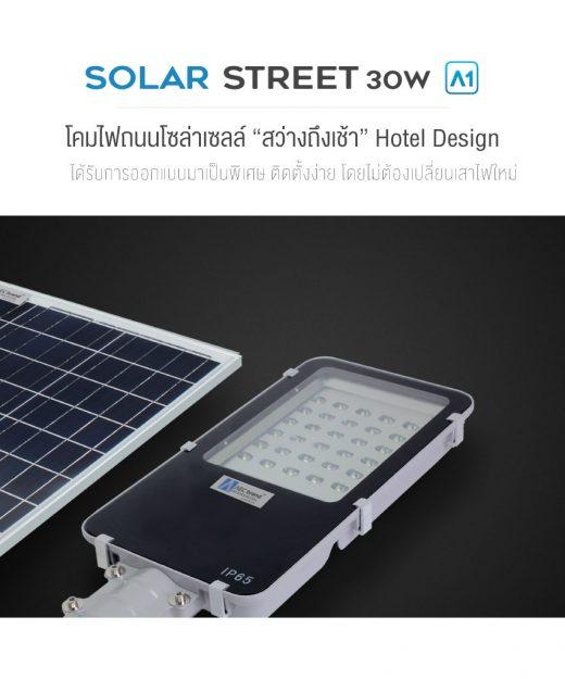 ไฟถนน-โซล่าเซลล์-30W-AEC-Solar-Streetlight-30W