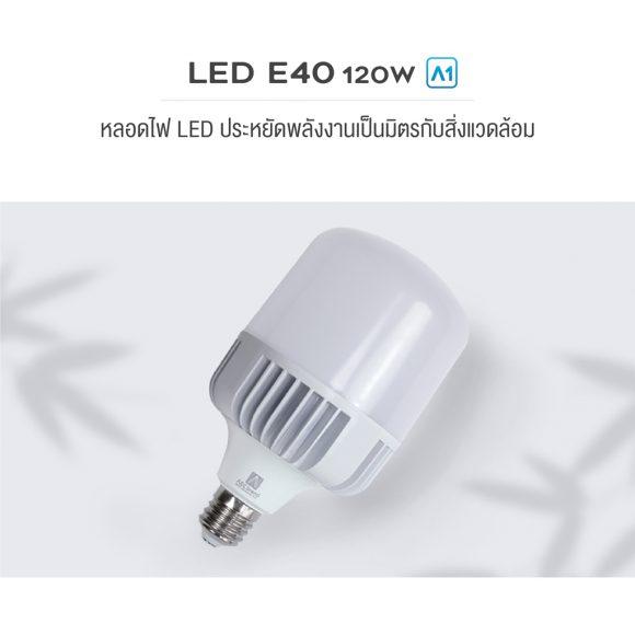 AEC BRAND LED E40 120W A1-01