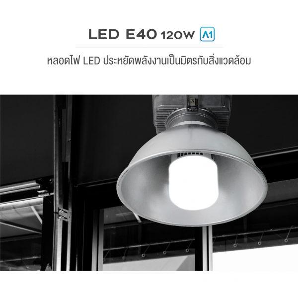 AEC BRAND LED E40 120W A1-02