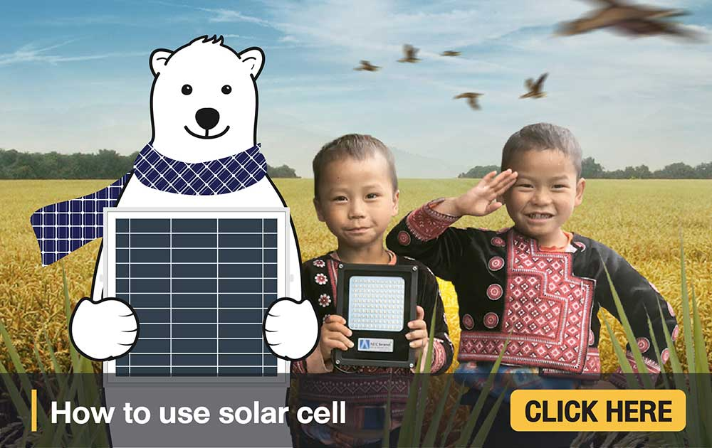 How-to-use-Solar-CELL-by-AEC-brand