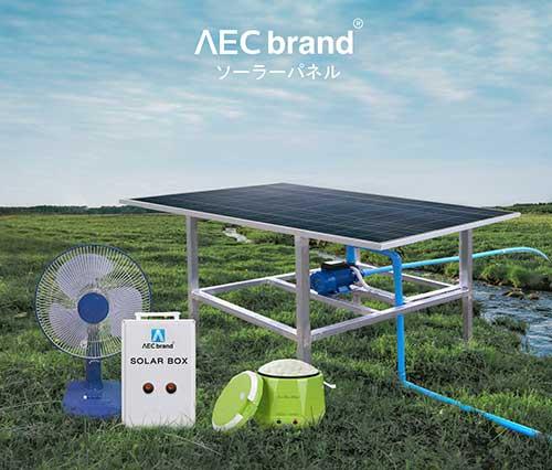 ปั๊มน้ำโซล่าเซลล์-Solar-Pump-260X-แถมหม้อหุงข้าวฟรี-รุ่นนี้หุงข้าวได้-โดย-AEC-brand